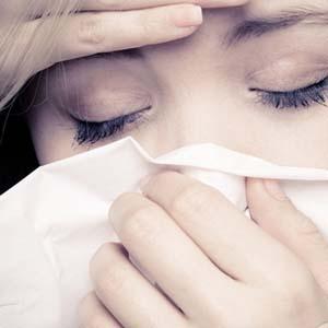 感冒头痛图片