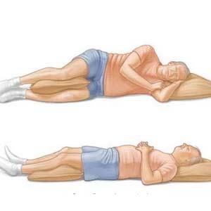 颈椎病正确睡姿图片2
