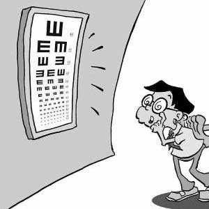 近视眼卡通图片7
